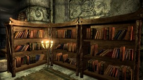 Skyrim: Bookshelves in Markarth House