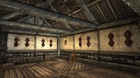 Skyrim: Archery room in The Reserve